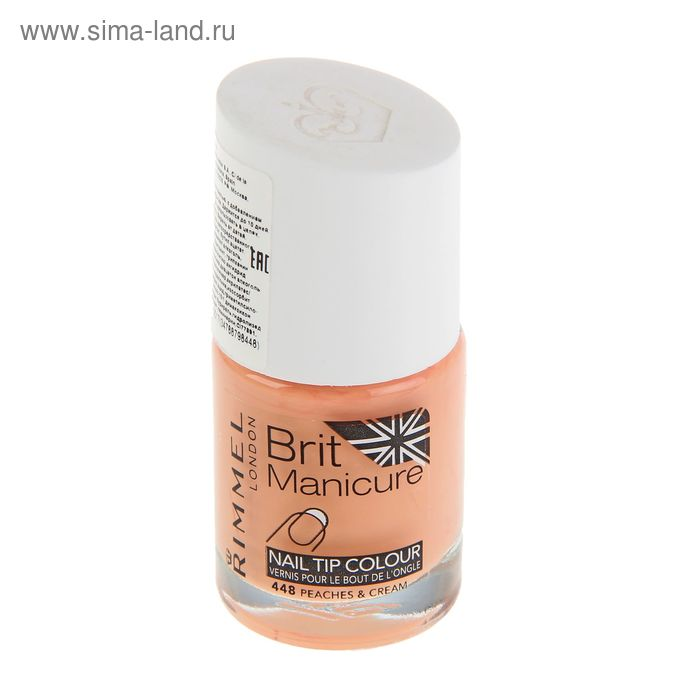 Лак для ногтей Rimmel Brit Manicure Nail Color  #448 Peaches & Cream