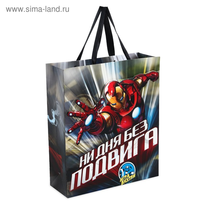 "Пакет ламинат с открыткой-игрой ""Ни дня без подвига"", Мстители"