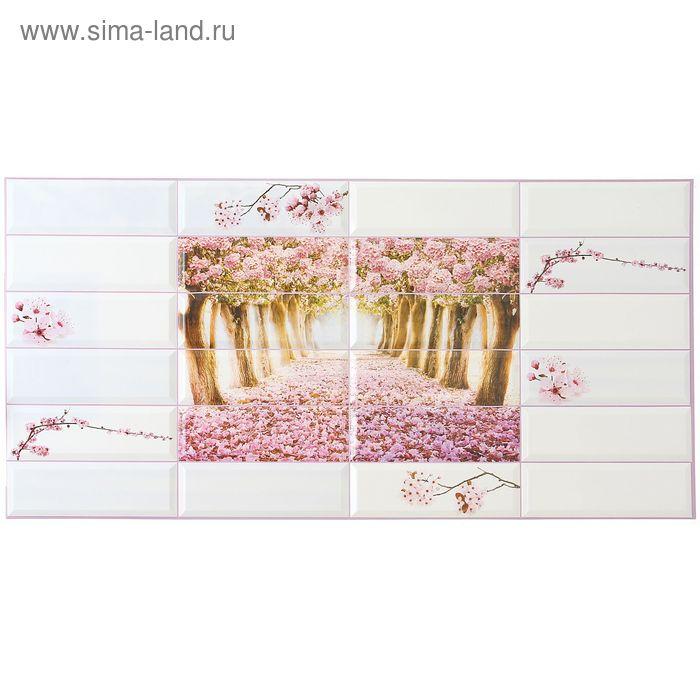 Панель ПВХ Райский сад 955*480