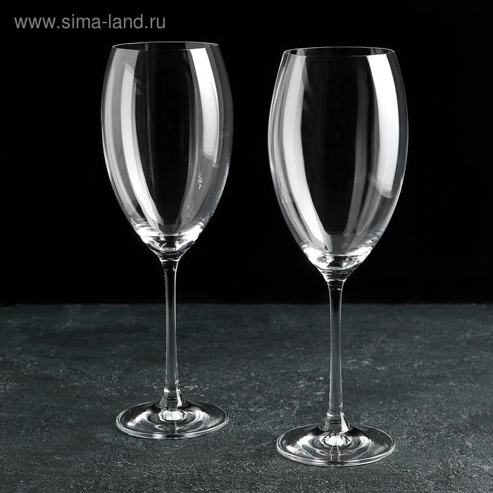 """Набор бокалов для вина 600 мл """"Грандиосо"""", 2 шт"""