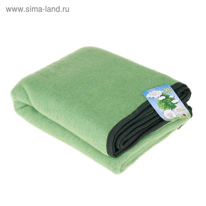 Одеяло детское РУНЯША 100% новозеландская овечья шерсть 100х140 см цв.12