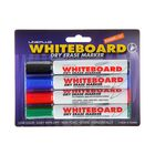 Набор маркеров для доски 4 цвета 3.0 мм Line Plus 600B