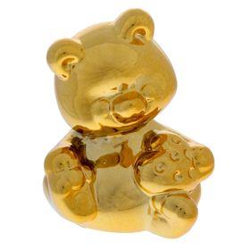 Копилка 'Золотой мишка' со стразами Ош