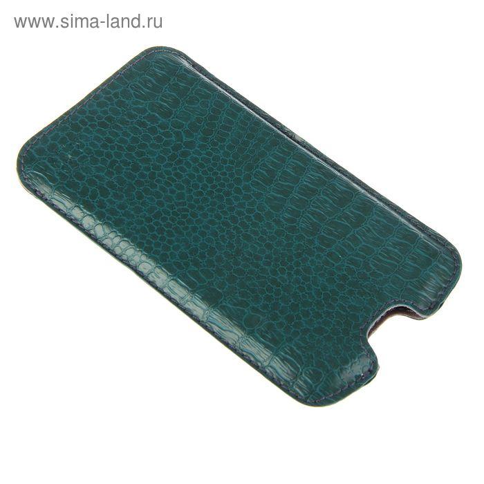 """Чехол-кармашек """"Norton"""" Ф 68*132*9 для  Samsung зеленый репт"""
