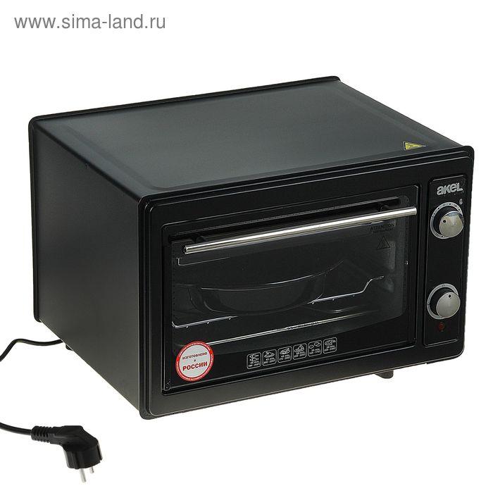 Электрическая духовка Akel AF-720, 36 л, 1300 Вт, черная
