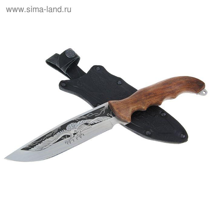 """Нож """"Беркут"""" г. Кизляр, рукоять-дерево, сталь 65Х13"""