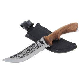 """Нож """"Тур"""" г. Кизляр, рукоять-дерево, сталь 65Х13"""