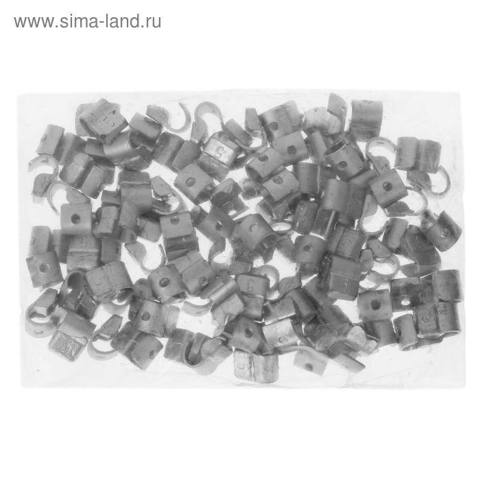 Грузики набивные свинцовые, для литых дисков, 5 гр., набор 100 шт.