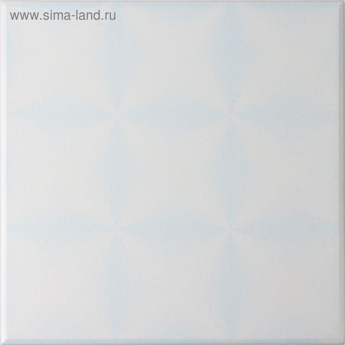 """Плита потолочная """"Калейдоскоп"""", цвет голубой"""
