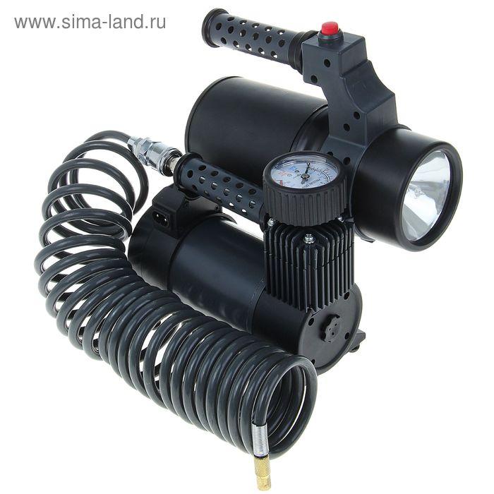 Компрессор автомобильный App M-45, 35 л/мин, 150 PSI, 12/220 В, аккумулятор+фонарь