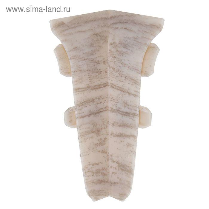 Внутренний угол 60 Aberhof дуб серебряный