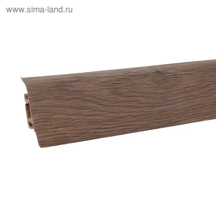 Плинтус с кабель-каналом 6х1,5х250 см Aberhof венге