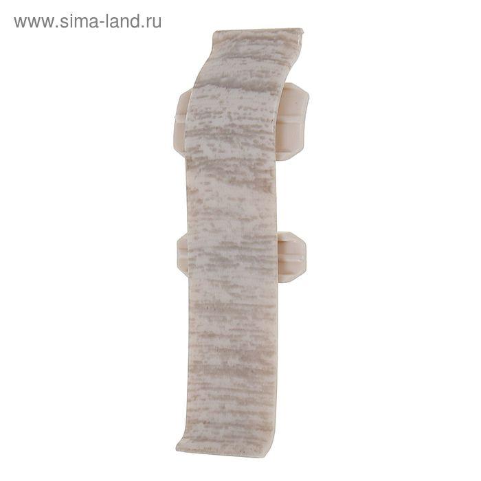 Соединитель 60 Aberhof дуб серебряный