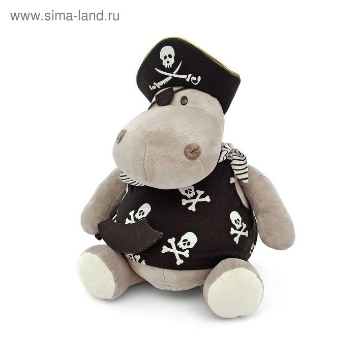 Мягкая игрушка «Бегемот Пират»