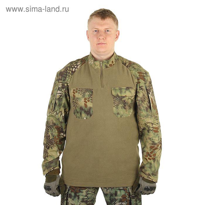 Джемпер для спецназа МПА-11 питон лес, ткань мираж + флис (48/4)