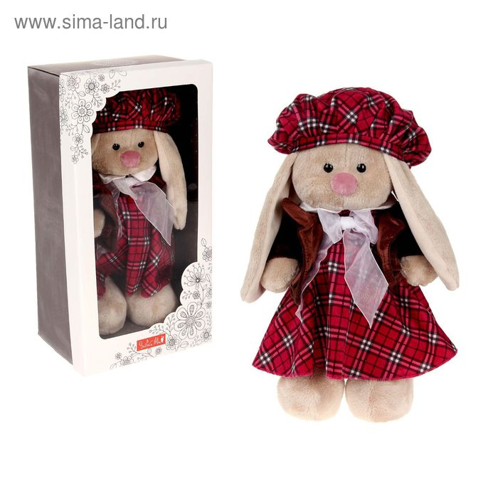 """Мягкая игрушка """"Зайка Ми. Девочка Эдинбург"""""""