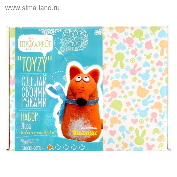 """Набор для создания игрушки """"Лиса"""" техника валяние"""