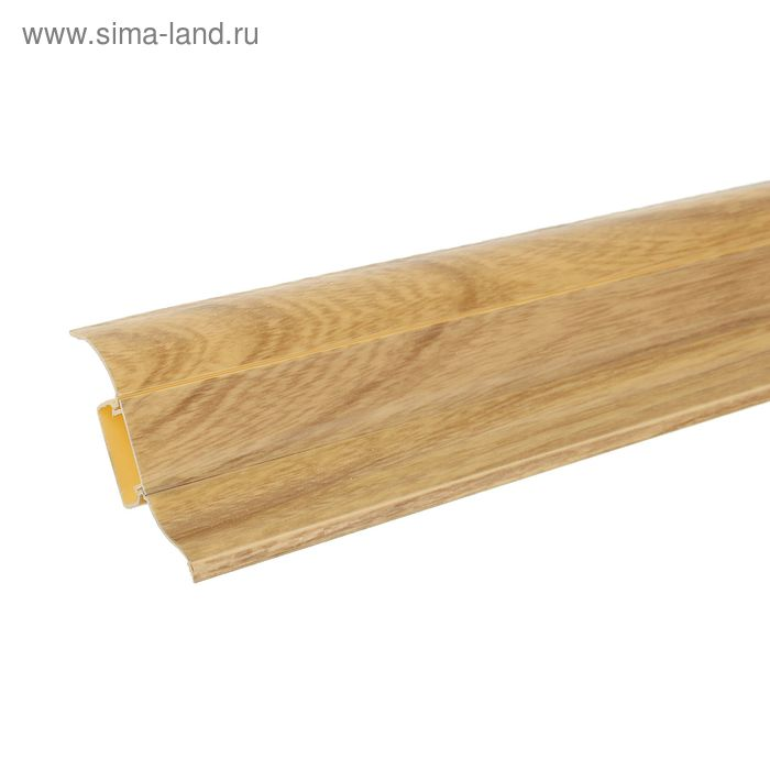 "Плинтус с кабель-каналом 6,2х2,3х250 см ""Престиж"" Олива"