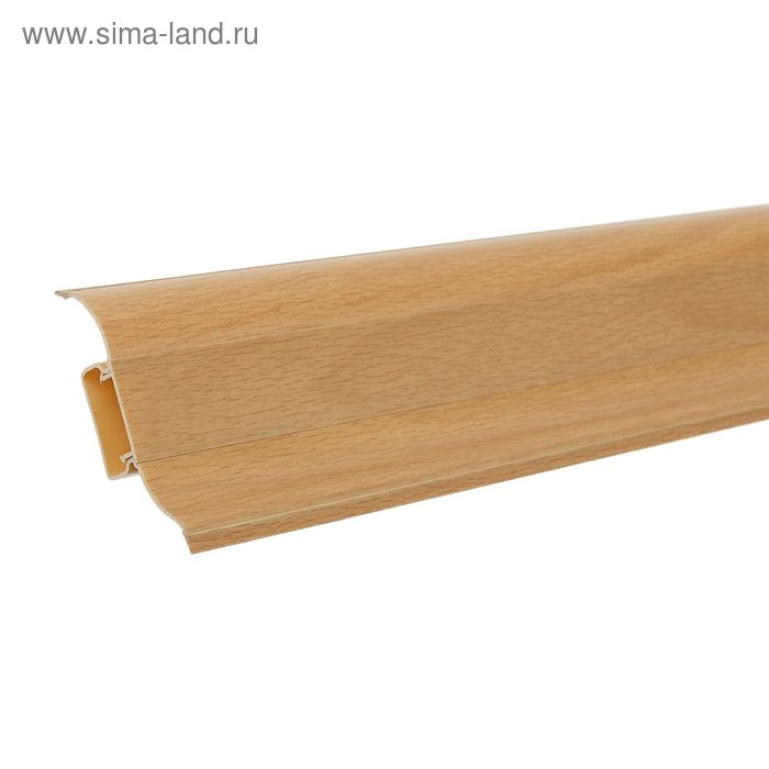 "Плинтус с кабель-каналом 6,2х2,3х250 см ""Престиж"" Бук Ампир"