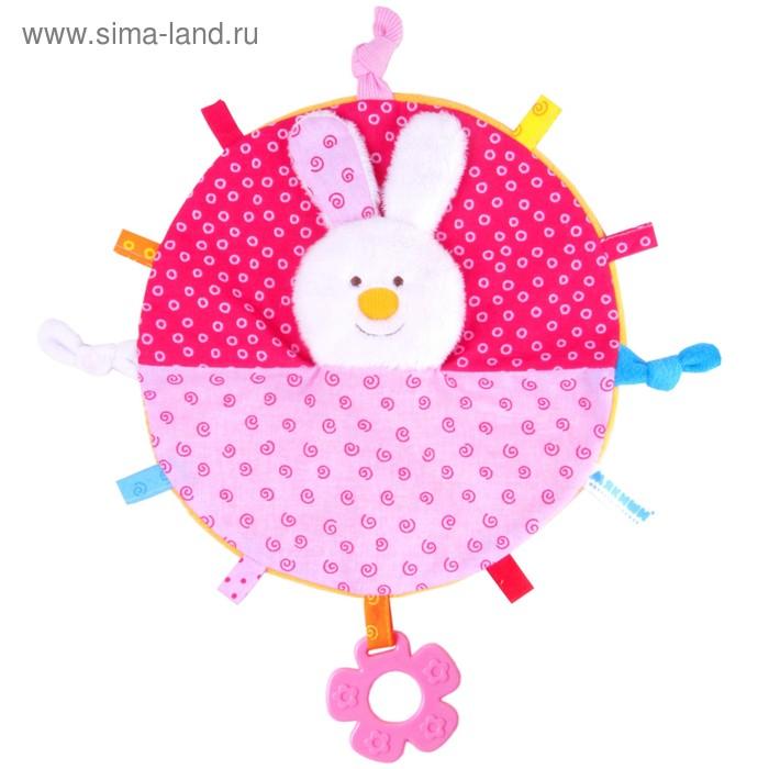 Развивающая игрушка-платочек «ШуМякиши. Зайка»