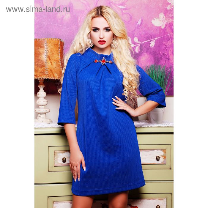 Платье женское 71171, размер 42 (S), цвет электрик