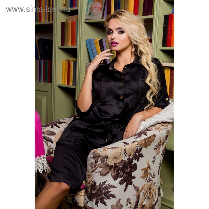 Платье женское 71177, размер 44 (M), цвет черный