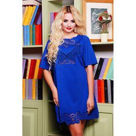 Платье женское 71172  цвет электрик, размер 42 (S)