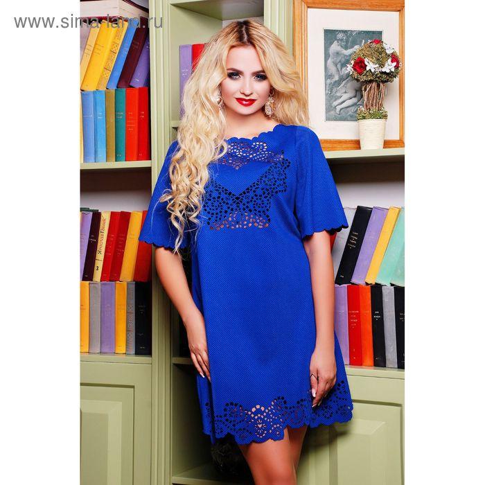 Платье женское 71172  цвет электрик, размер 44 (M)