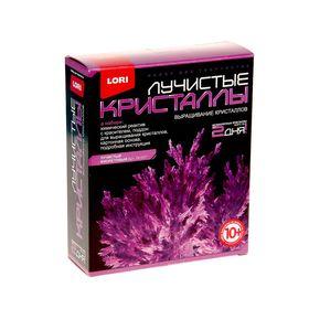 """Набор для выращивания кристаллов """"Фиолетовый кристалл"""""""