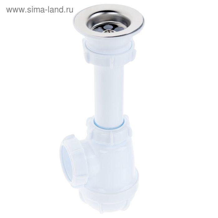 """Сифон малый Aquant , с выпуском 1 1/2"""" х 40 мм"""