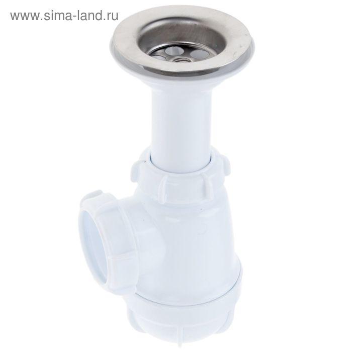 """Сифон малый Aquant, с удлиненной горловиной 1 1/2"""" х 40 мм"""