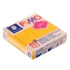 Пластика - полимерная глина 57г FIMO soft, жёлтый