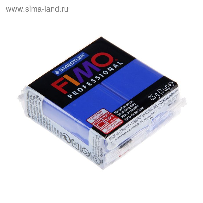 Пластика - полимерная глина 85г FIMO professional, ультрамарин