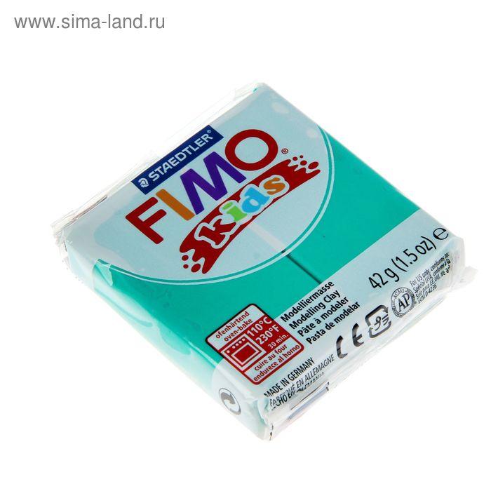 Пластика - полимерная глина для детей 42г FIMO kids, зеленый