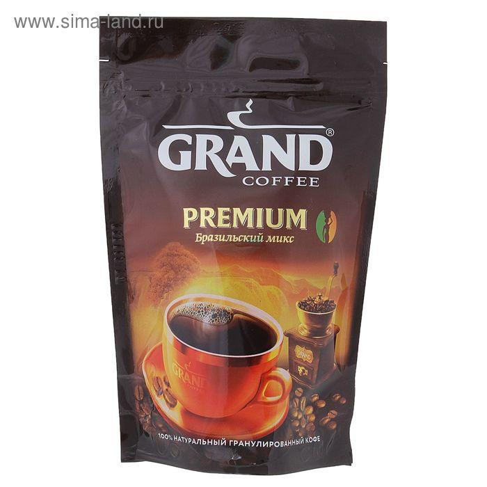Кофе Grand Premium, дойпак, 50 г