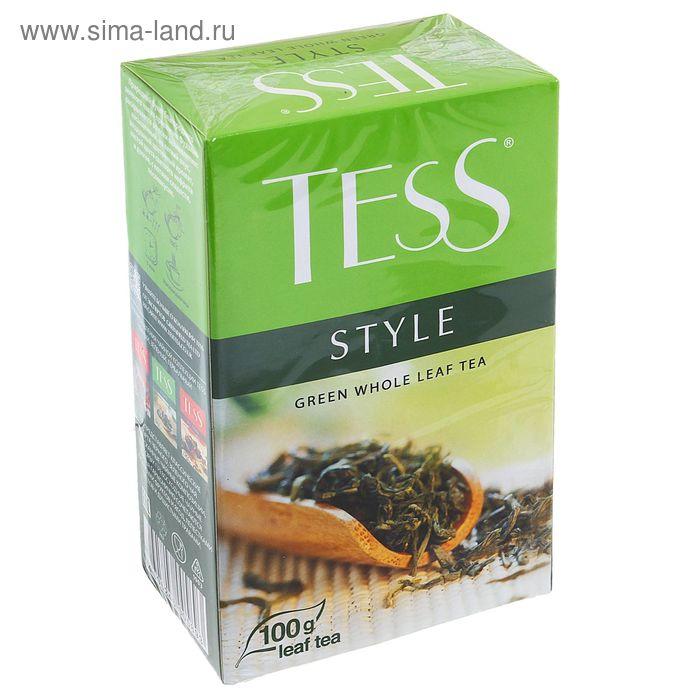 Чай зеленый Tess Style, 100 г