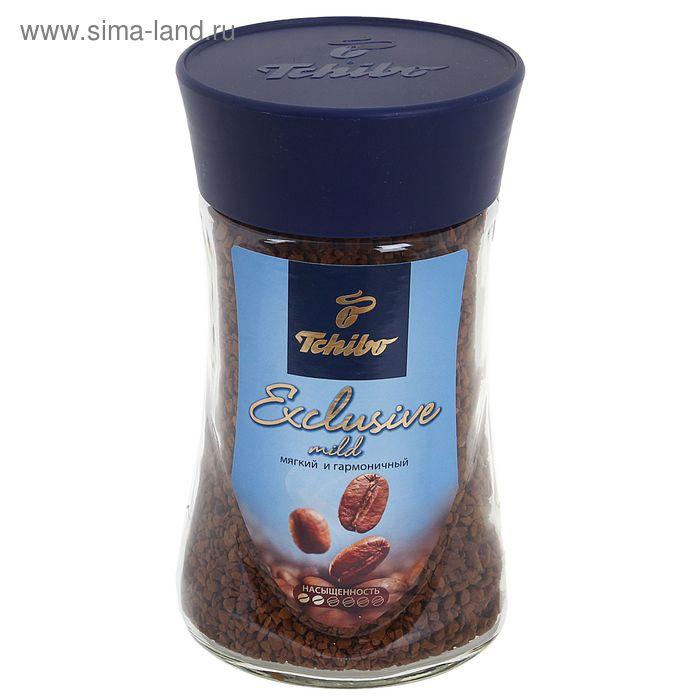 Кофе Tchibo Exclusive Mild, натуральный, сублимированный, 95 г