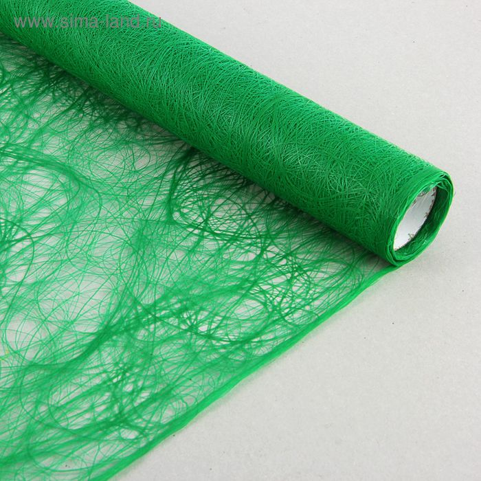 Сизофибер матовый, зелёный, 50 см х 5 м