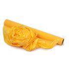 Полисилк матовый, желтый, 0,5 х 10 м