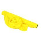 Полисилк матовый, лимонный, 0.5 х 10 м