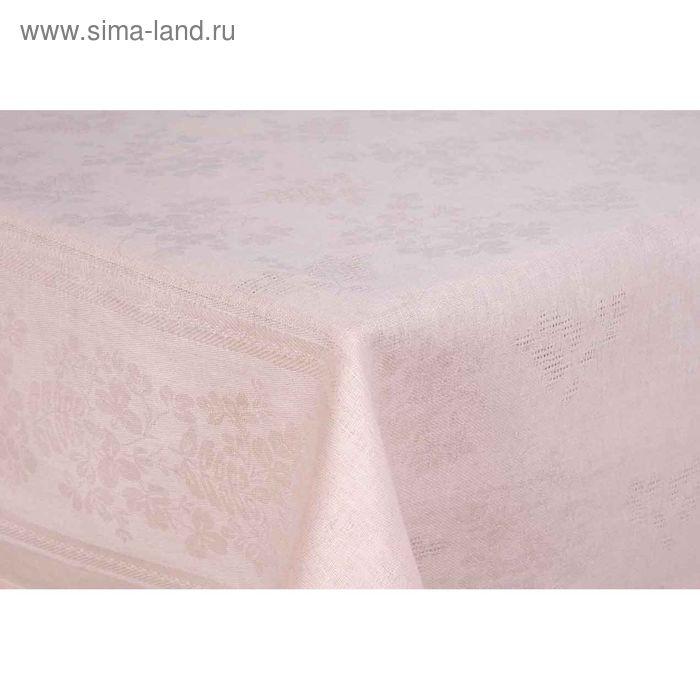 Скатерть Рейнбоу жаккард, размер 145х180 см, цвет кремовый