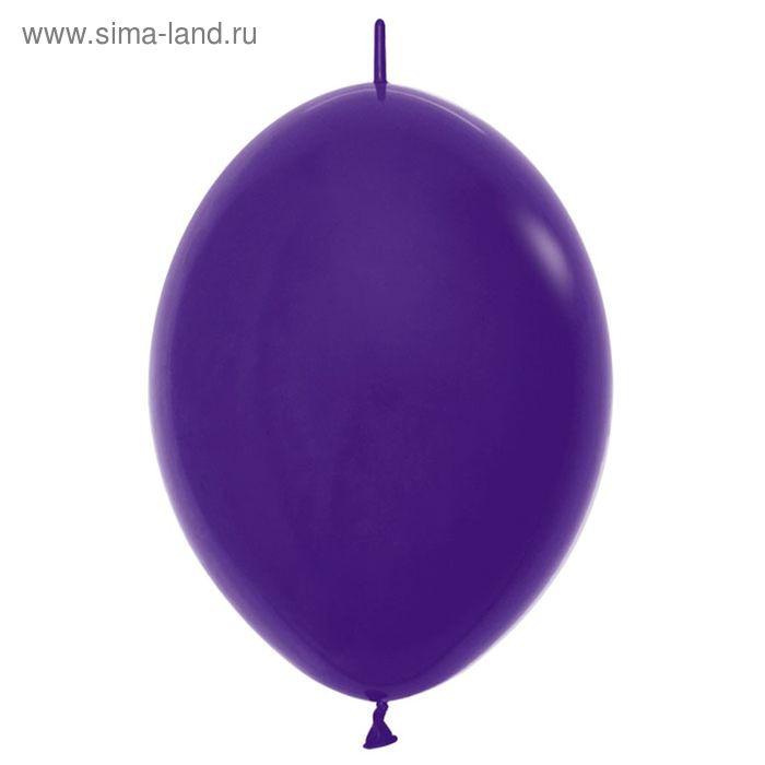 """Шар латексный 12"""", линколун, пастель, набор 100 шт., цвет фиолетовый"""
