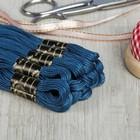Мулине №2810,10±1м, цвет синий