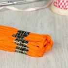 Мулине №0711,10±1м, цвет ярко-оранжевый