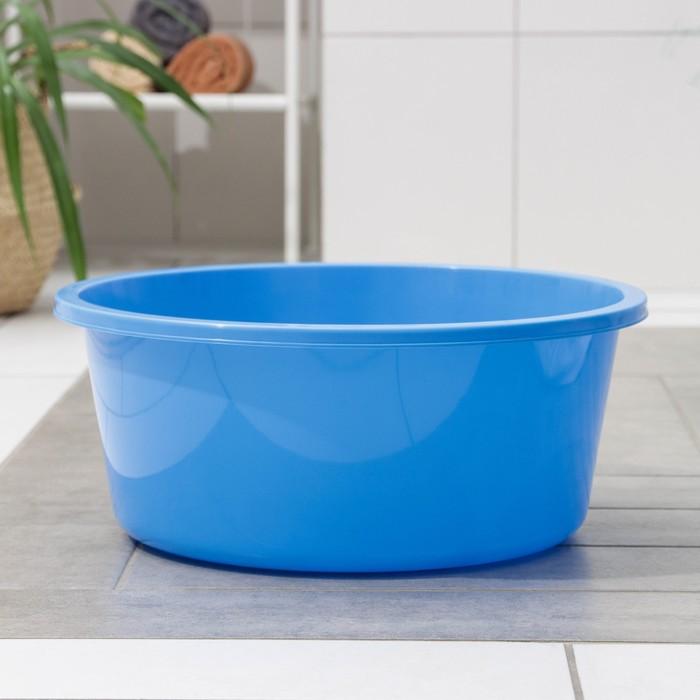 "Таз 20 л ""Кливия"", цвет голубой"