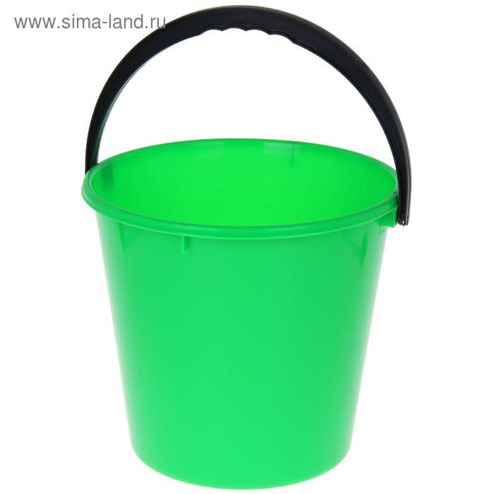 """Ведро 10 л """"Примула"""", цвет зеленый"""
