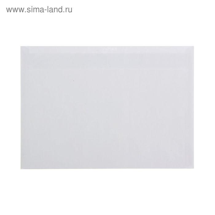 Конверт почтовый С5 162х229мм чистый, без окна, силиконовая лента, внутренняя запечатка, 80 г/м, упаковка 1000шт