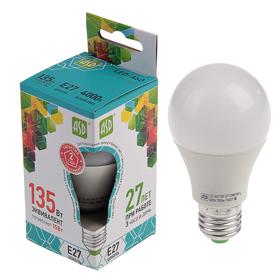 Лампа светодиодная ASD, Е27, 15 Вт, 210-240 В, 4000 К