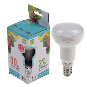 Лампа светодиодная направленного света R50, Е14, 3 Вт, 4000 К