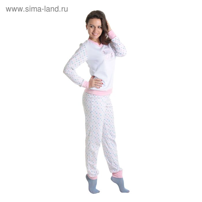 Комплект женский (фуфайка, брюки) арт.12с148В, р-р 50-52 (100-104)